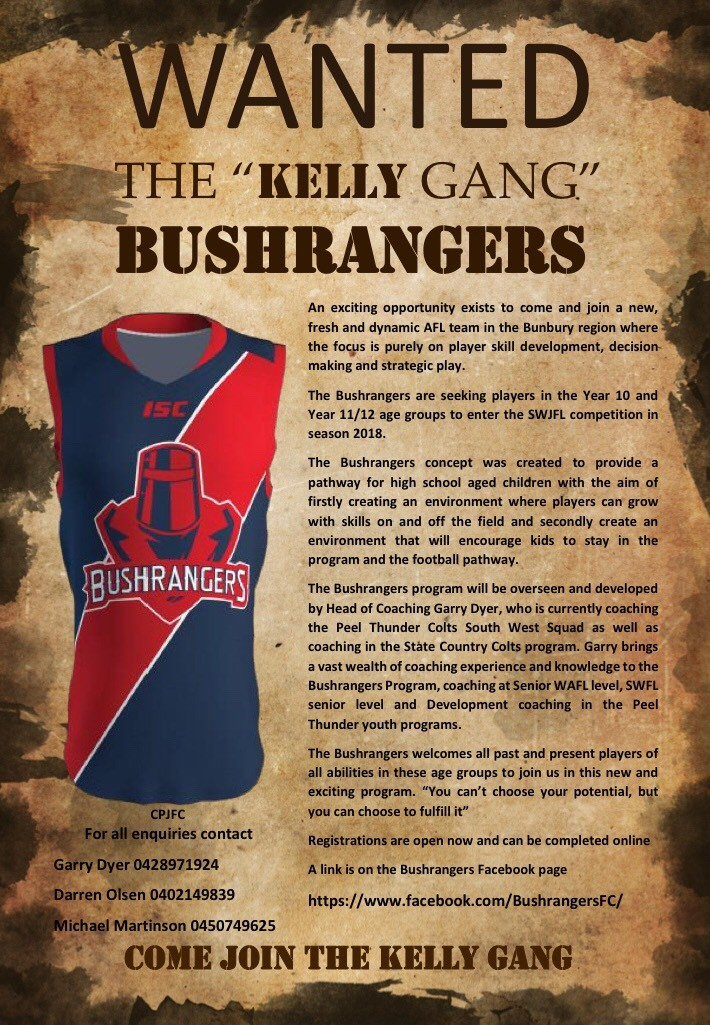 Come Join The Kelly Gang
